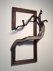 Wood frame with grafted manzanita branch Argus par FusionFramesNW (Home Decor and Fashion) Tags: argus branch frame fusionframesnw grafted manzanita par with wood