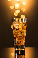 Sparkling (Muhammad Al-Qatam) Tags: nikon d810 malqatam alqatam muhammadalqatam kuwait sparkling apple cider juice food drink bokeh reflection product