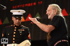 Dave Mead & Willie Nelson (Farm Aid 2016) (Crumblin Down) Tags: farm aid 2016 willie nelson wisdom indian dancers star swain bristow va virginia farmers concert event music rock roll country marine national anthem blessing stage