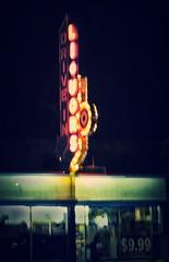 Late Nite Liquor (Pete Zarria) Tags: minnesota liquor wine beer neon sign steel case night handheld urban