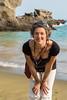Me at Papakolea Green Sand Beach (koalie) Tags: 2015wintervacation coraliemercier greensandbeach hi hawaii kalae papakoleagreensandbeach southpoint usa byvv06 byvlad koalie vacation naalehu unitedstates us