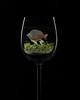 Fish in white wine. (andypf01) Tags: fish flickfriday wineglass unusual animal pet composite backlit strobe blackbackground guildofphotographers bronzebar redmatrix