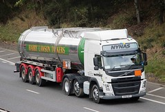 VOLVO FM -- NYNAS  op. by HARRY LAWSON Broughty Ferry (scotrailm 63A) Tags: lorries trucks tankers lawson