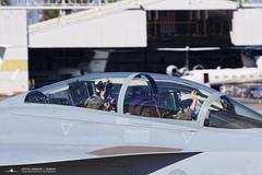 "168923 NJ-156 VFA-122 ""6 KUSS"" (PhantomPhan1974 Photography) Tags: 168928 fa18f superhornet vfa122 longbeachairport lgb klgb huntingtonbeachairshow superhorentdemo mcdonnelldouglas boeing canon7dmarkii"