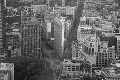 MircK - Flat Iron (imNOTaPh) Tags: newyork flatiron flatironbuilding nyc usa america ontheroad empirestatebuilding skyline skycreaper manhattan mirck d3100 nikon travel travelphotography bw blackwhite