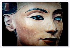 Egyptian Queen (Nefertiti) (JOSEPH ILIADIS PHOTOGRAPHY) Tags: egypt nefertiti queen beauty statue art armana ancient archaeology portrait antiquity bust