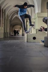 Sancho noseblunt slide (Fabio Stoll) Tags: bern oldtown skateboarding skate skatephotography skateboard noseblunt slide sonyalpha99 zeiss85mmf14 godox ad360 switzerland ajvt