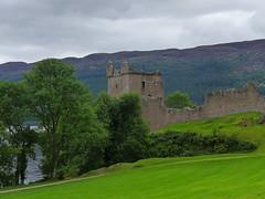 Urquhart Castle Loch Ness (rimerbl) Tags: lochness urquhartcastle thehighlands scotland leicadlux6 dlux6 leica ruin castle lake loch water hillside building buildingstructure unitedkingdom