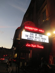 Webster Hall nightclub / concert venue 7066 (Brechtbug) Tags: webster hall nightclub concert venue 125 east 11th street between third fourth avenues near astor place village manhattan new york city built 1886 recording october 10202016 nyc 2016 downtown band music musicians group stages bands 4th 3rd halloween decorations st ave avenue