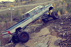 Ford F-350 6-door crawler 03 (My Scale Passion) Tags: ford f350 6door longbed long longesttruck unique 1992 custom build scale rc modeling styrene hardbody truck crawling crawler axial wraith scx10 vintage old retro scratch rockcrawling wide stretched climbing lifted double doublecab dual dualmotor classic 110 18 tekin exceed madtorque maxstone autumn