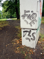 Graffiti in Berlin 2016 (kami68k -all over-) Tags: berlin 2016 graffiti illegal bombing tag tags tagging handstyle handstyles fioe tls