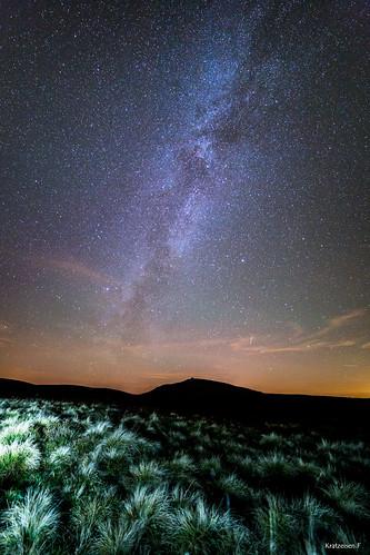 Une nuit d'automne sous les étoiles