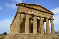 Agrigento tempio della Concordia (domenico.coppede) Tags: sicilia agrigento templi noto armerina napoli selinunte segesta erice concordia ortigia siracusa cefal vulcano etna