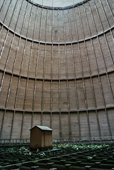 Final Wooden House (Lacrasse) Tags: industrial charleroi belgique belgium urbex wooden house cooling tower analogue film nikon f801 fujifilm forsaken