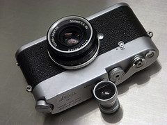 Leica MDa, Voigtlander Color Skopar 35mm F/2.5 Pancake Type I LTM, Canon 35mm Viewfinder (duncanwong) Tags: leica mda m mount ltm bayonet canon viewfinder vf view finder 35mm 2 f2 voigtlander color skopar pancake type 1 ii