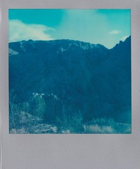 Valley of Fire (bowerbirdnest) Tags: desert nevada california death valley deathvalley lakemead polaroid polaroid600 sx70 sx70sonar theimpossibleproject