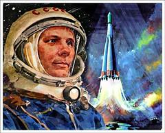 768904YU (Kronos9) Tags: urss soviet rusia yuri gagarin vostok cosmonaut