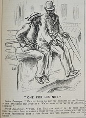 One for his nob!  - Punch 1873 (AndyBrii) Tags: punch 1873 wit satire woodcutsengravings