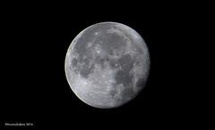 Trshavn 16.11.2016 kl. 03.21 (Marita Gulklett) Tags: froyar frerne faroeislands trshavn streymoy panasoniclumixdmcfz150 maritagulklett mnin mnen moon