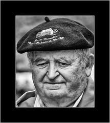 Nameless Strangers (SK Monos) Tags: portrait character monochrome blackwhite photo border people face man mature outdoor old