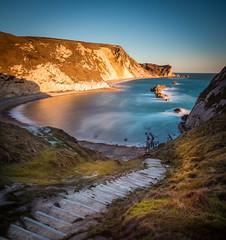 Jurrasic coast (derekgordon1) Tags: nikon d7100 sigma1020 jurrasic coast sea seascape coastline manowarbay dorset lulworth longexposure 6stop nd leadinglline smoothwater