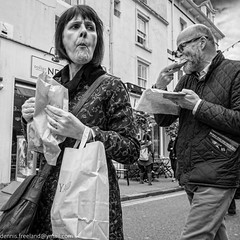 TOUGH TAKEAWAY (dens_lens) Tags: candid street brighton england streetphotography