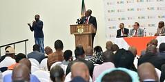 Deputy President Cyril Ramaphosa addresses Expanded Public Works Programme Summit, 15 Nov 2016 (GovernmentZA) Tags: ramaphosa epw expanded public works programme summit jeremy cronin