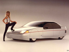 ... Ford - Probe! (x-ray delta one) Tags: jamesvaughanphotography populuxe retro advertising americana nostalgia suburbia suburban magazine popularscience popularmechanics atomic housewife car conceptcar