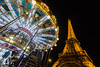 Atracciones varias (Juan Ig. Llana) Tags: paris îledefrance francia torreeiffel tiovivo carrusel atracciones noche nocturna