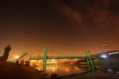 DSC08482 (cemilÖzenli) Tags: eskişehir fener adası gaga yaya köprüsü porsuk sonbahar pedestrian bridge sunrise autumn