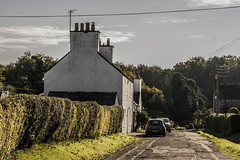 Hannay Street (superextraawesome) Tags: countryside trees harling harl house slate white limewash quaint picturesque village rural vernacular scotland galloway dumfries gatehouseoffleet