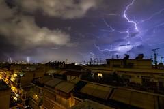 | Storm (iatroud) Tags: iatroud nikon greece athens kallithea storm night cityscape urban longexposure clouds rain tokina electricity thunder thunderstorm thunderspider spider
