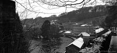 New Lanark (R_S_2014) Tags: nikond3100 nikon southlanarkshire lanarkshire lanark worldheritage 2015 december blackandwhite bw