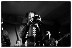 Emanative @ Cafe Oto, London, 19th November 2016 (fabiolug) Tags: trumpet emanative jazz spiritualjazz spacejazz cafeoto london dalston music gig performance concert live livemusic leicammonochrom mmonochrom monochrom leicamonochrom leica leicam rangefinder blackandwhite blackwhite bw monochrome biancoenero voigtlandernoktonclassic35mmf14 voigtlandernokton35mmf14 voigtlander35mmf14 35mm voigtlander