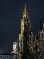 Midnight Rathaus (H.H. Mahal Alysheba) Tags: münchen munich night architetcure tradition germany travel building lumix gx7 lumixg 1260mmf3556