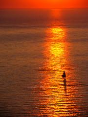 Somewhere in the Adriatic sea... (Leonardo oga) Tags: adriatic sea jadransko more sunset leonardo oga croatia hrvatska ngc simply superb