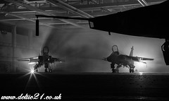 20161026-IMG_3768-Edit (deltic21) Tags: jaguar raf royal air force aircrew pilot pilots airmen jet bomber plane war warbird warplane strike aircraft aeroplane cosford airbase military airforce aviation cold shropshire england british bombs shadows canon colour lights attack photograph photo charter photoshoot mono monochrome bw