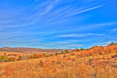 (yosmama151) Tags: wmwr wichitamountainswildliferefuge wichitamountains lawton oklahoma landscape autumn oklahomalandscape prairie field plain greatplains hdr highdynamicrange