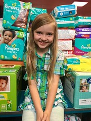 Lily Bea's birthday diaper drive to benefit PDX Diaper Bank.
