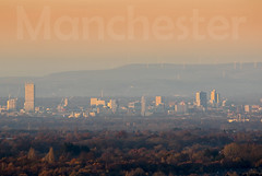 Manchester Skyline 24-11-2016 (Enda Burke) Tags: trees sun sunset skyline cheshire alderley alderleyedge manc bethan hilton manchester mcr ilovemcr beethamtower beetham canon canon7dmk2