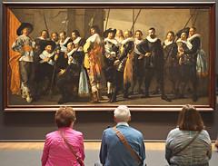 Franz Hals: The Meagre Company (nisudapi) Tags: 2016 europe amsterdam rijksmuseum artist painting art hals franzhals codde pietercodde militia meagrecompany portrait reynierreael