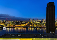 """A Story To Tell"" Switch House, Tate Modern, London, UK (davidgutierrez.co.uk) Tags: london photography davidgutierrezphotography city art architecture nikond810 nikon urban travel color skyscraper night blue uk londonphotographer skyline tatemodern tate herzogdemeuron photographer buildings england unitedkingdom  londyn    londres londra europe beautiful cityscape davidgutierrez capital structure britain greatbritain d810 building street modernartgallery switchhouse colour openviewingterrace 360 londonskyline riverthames stpaulscathedral millenniumbridge bridge dusk bluehour twilight thames river colors colours nikon2485mmf3545gedvrafsnikkor nikon2485mm thamesriver iconic landmark reflection"