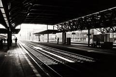 train station winterthur (Silvio Naef) Tags: pakon f 135 ilford delta 400 leicam6