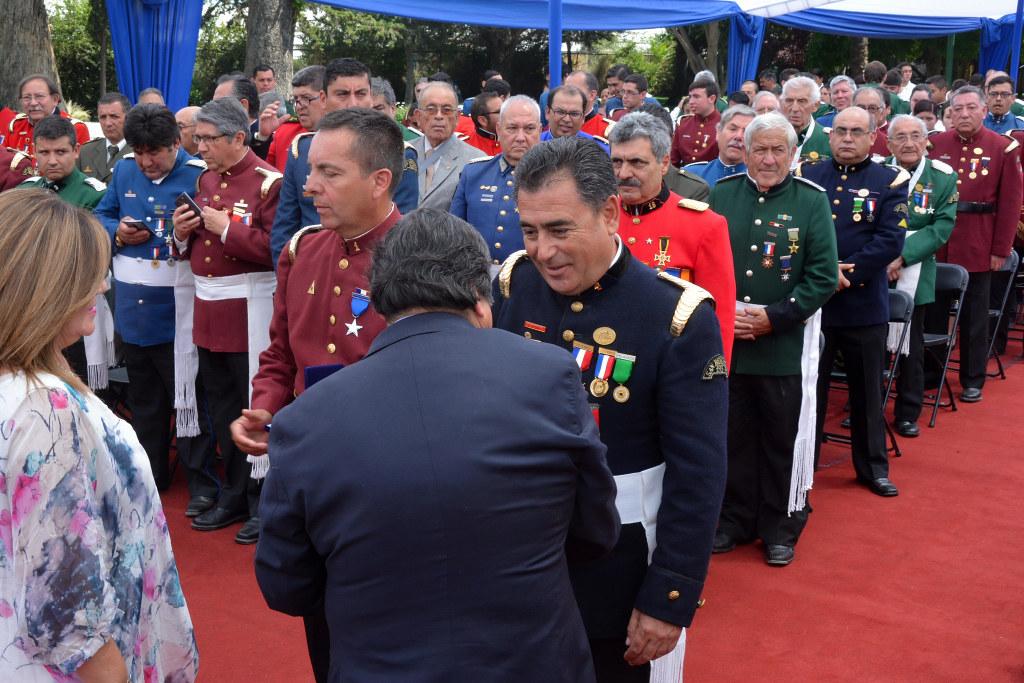 Juramento de la Octava Compañía Bomba Bélgica, San Bernardo-El Bosque