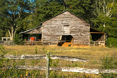 Barn - Townville S.C. (DT's Photo Site - Anderson S.C.) Tags: farm barn vintage country roads rural vanishing landscape canon 6d 24105mml south carolina andersonsc upstate america
