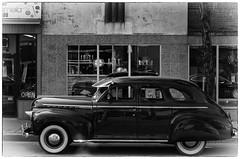 Master Deluxe shopping (_Matt_T_) Tags: street bw reflection classic chevrolet automobile photographer pentax hamilton 124 collectable masterdeluxe smctakumar50mmf14 niksilverefexpro2 k5iis