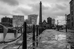 Wet Liverpool (shabbagaz) Tags: city uk greatbritain england west liverpool dock unitedkingdom britain sony united albert great north kingdom august lancashire alpha waterside merseyside 2015 a65 shabbagaz