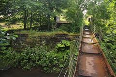 Bridge of Dun, Angus (Paul Emma) Tags: uk railroad river scotland angus railway oldrailway disusedrailway riversouthesk bridgeofdun aberdeenrailway