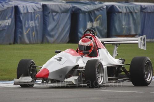 Adam Walker in Formula Jedi at Donington, September 2015