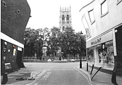 Doncaster Minster (arthur.edis) Tags: new railroad people blackandwhite musician plant building tree eye girl monochrome architecture composition train person high sand candy state outdoor body dunes pray watching young engine indoor jewelry curvy piercing steam belly hips waist rings 99 shore attractive vehicle agent faves locomotive subject hip performer caress seas scavenger smasher vulnerable looker femal ravisher waistline tighs shaply f57 photoadd atractiveness